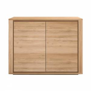 Oak Shadow sideboard - 2 doors
