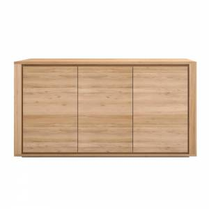 Oak Shadow sideboard - 3 doors