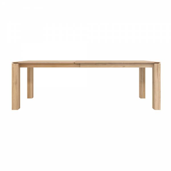 Slice Extendable Dining Table - Oak | Rouse Home