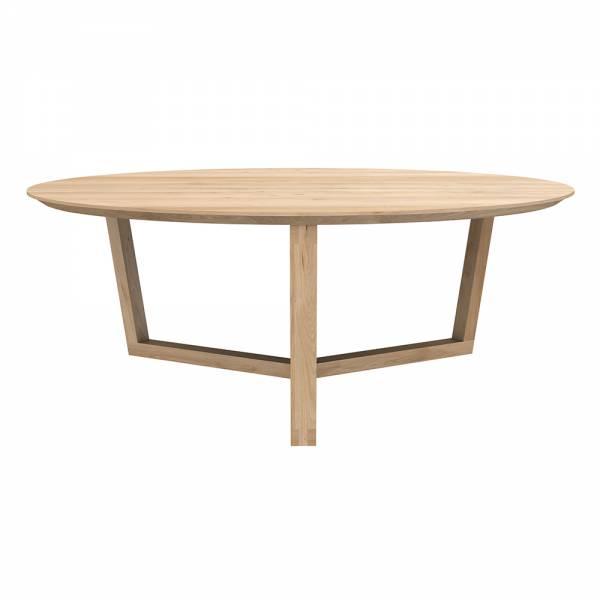 Oak Tripod coffee table