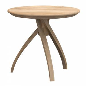 Oak Twist side table