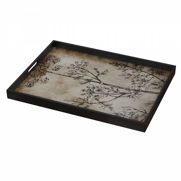 Slate Dill Glass Tray