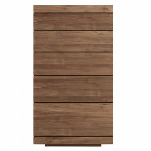 Teak Burger chest of drawers - 5 drawers - FSC 100%