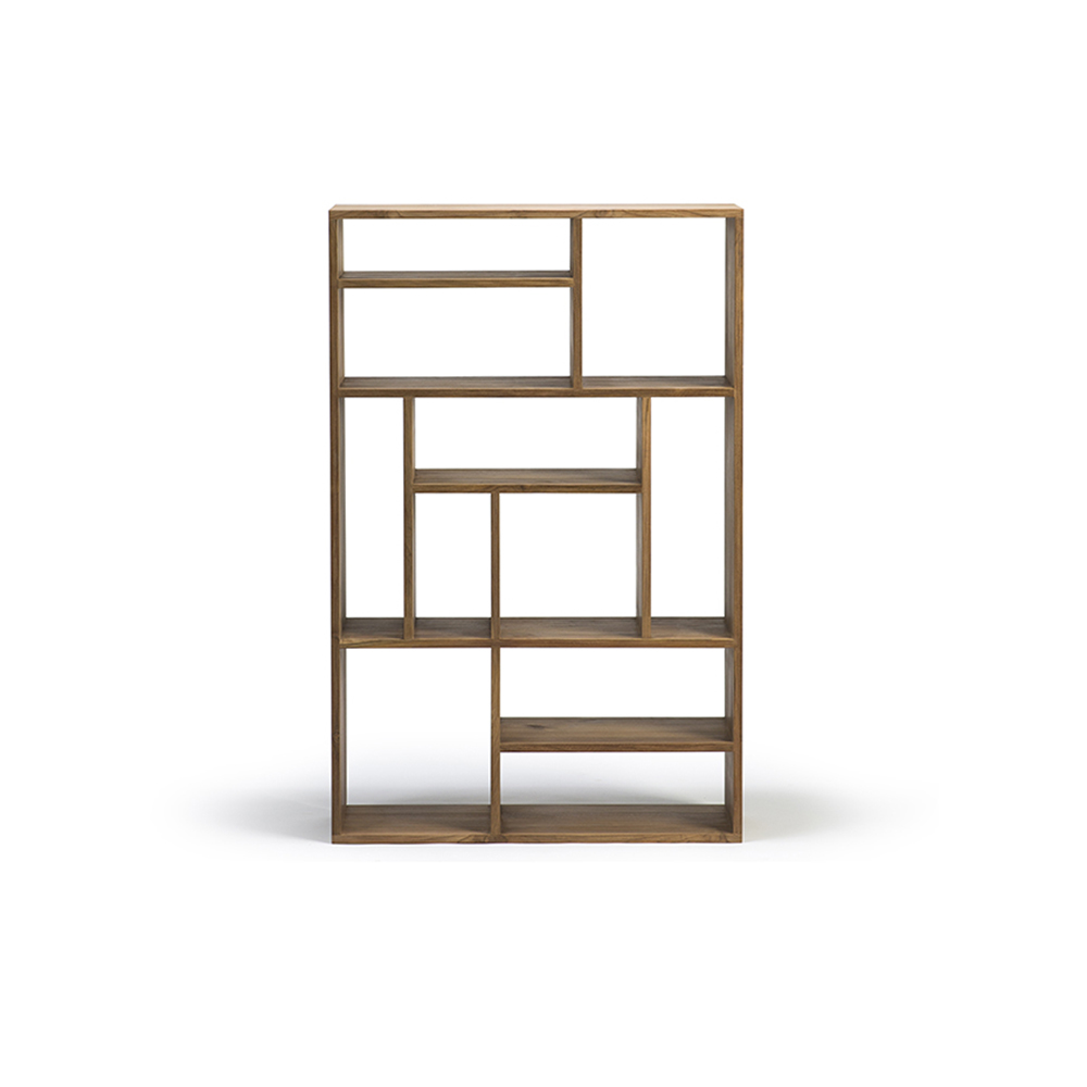 M Rack Bookcase Small Teak