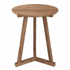 Teak Tripod side table - FSC 100%