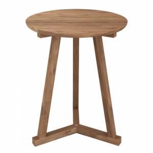 Teak Tripod side table - FSC 100%