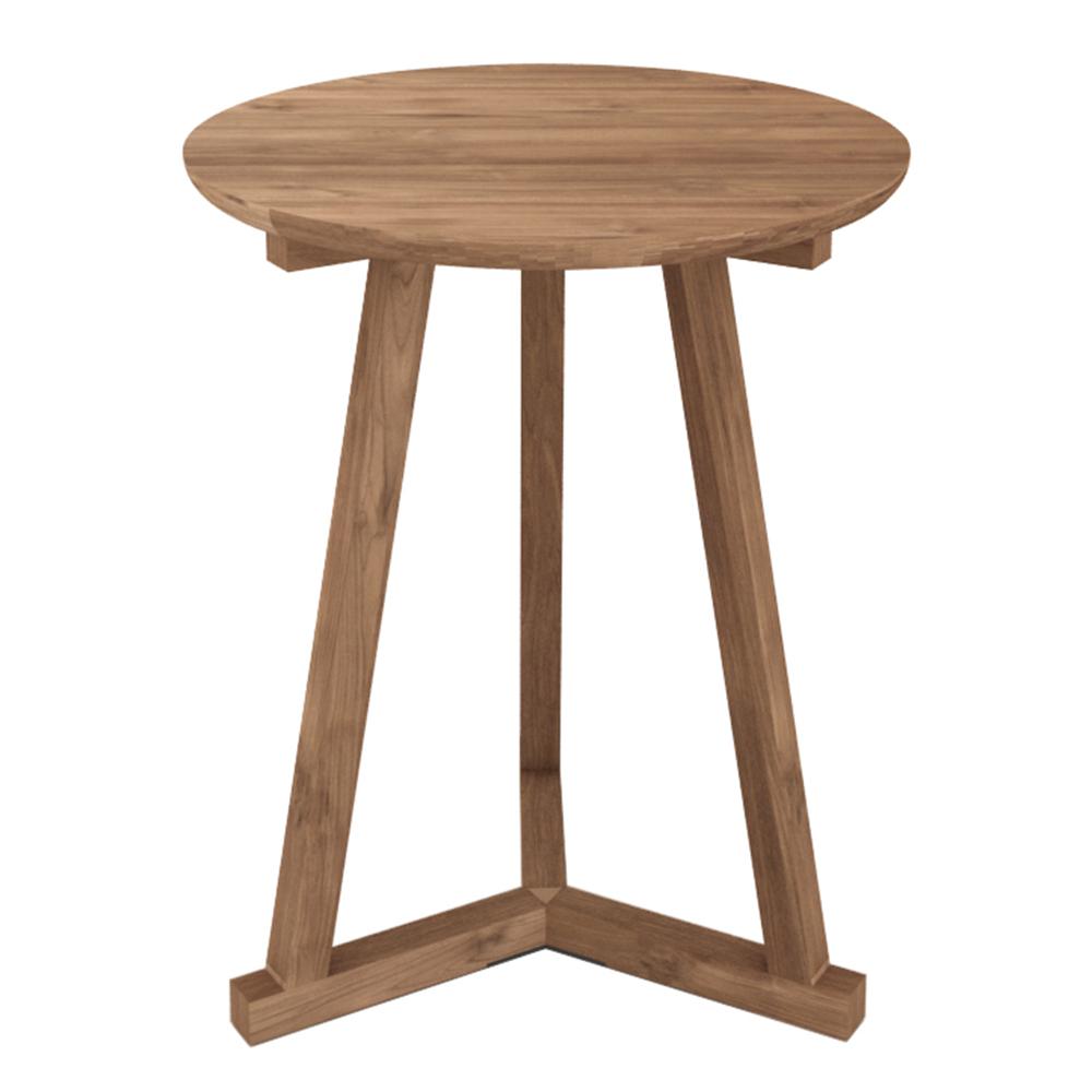 Side Table Teak.Tripod Side Table Teak