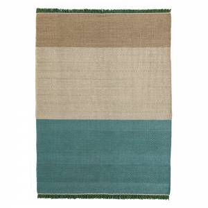 Tres Stripes Rug - Green