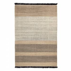 Tres Stripes Rug - Black