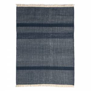Tres Texture Rug - Blue