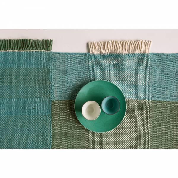 Tres Rug - Green