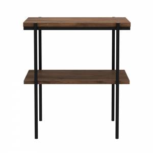 Walnut Rise side table