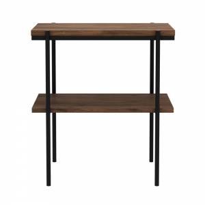 Walnut Rise side table