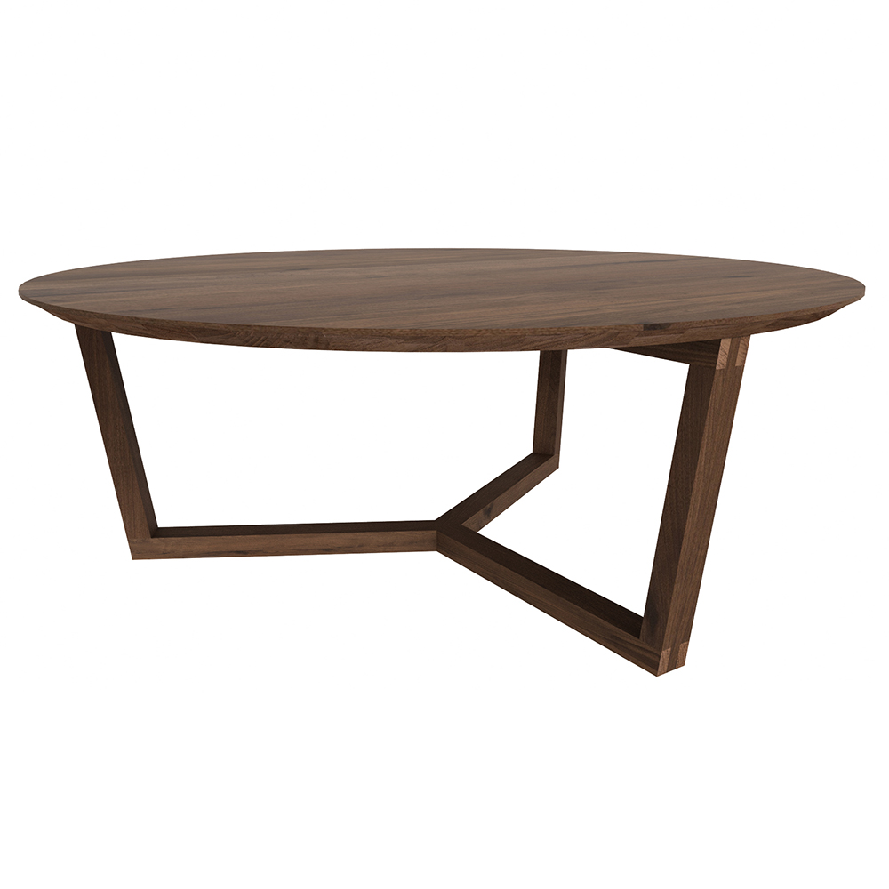 Tripod Coffee Table Walnut