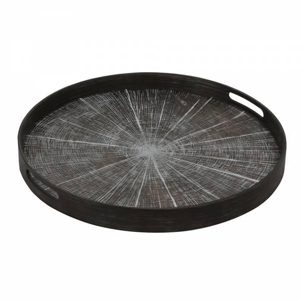 White Slice Driftwood Tray