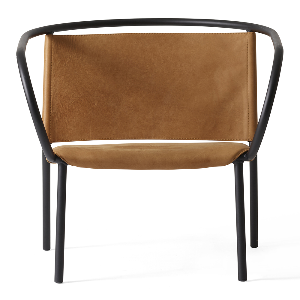 Afteroom Lounge Chair Cognac Leather Rouse Home