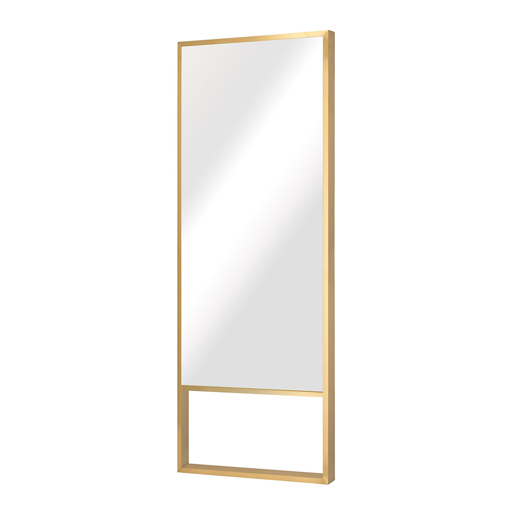 Alexa Floor Mirror Gold Rouse Home