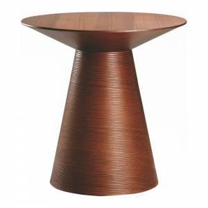 Anika Side Table - Tan