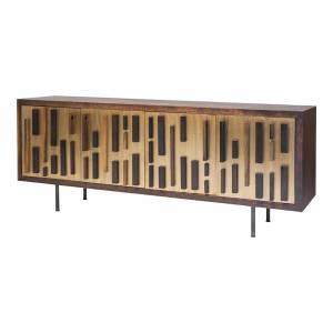 Blok Sideboard - Bronze 4 Doors
