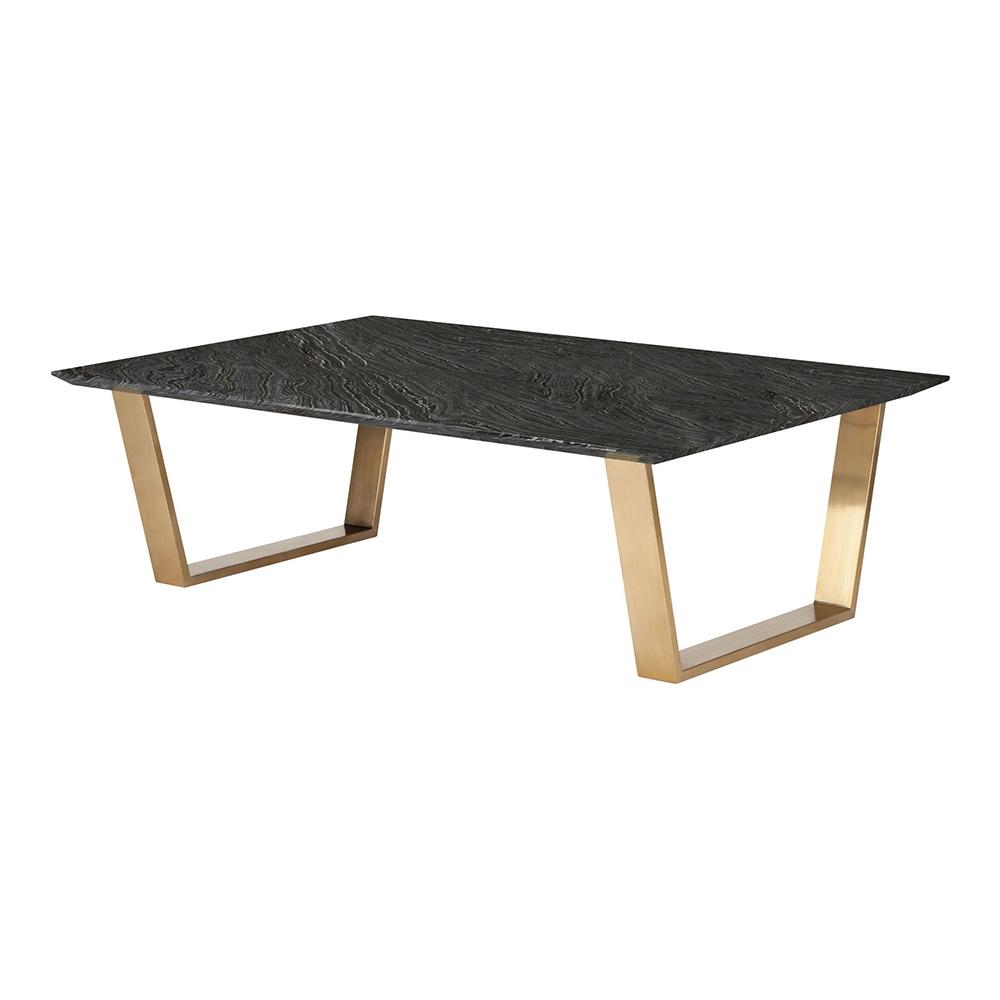 Catrine Coffee Table Black Gold