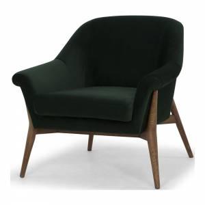 Charlize Armchair - Emerald Green