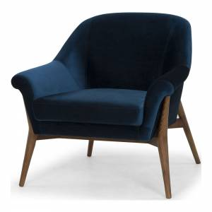 Charlize Armchair - Midnight Blue