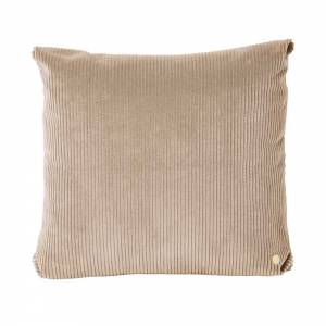 Corduroy Cushion 45x45 - Beige