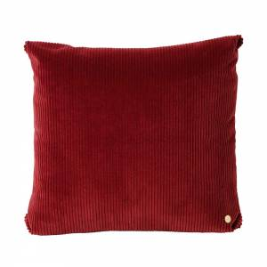 Corduroy Cushion 45x45 - Brick