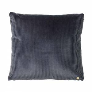 Corduroy Cushion 45x45 - Dark Gray