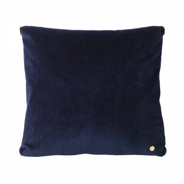 Corduroy Cushion 45x45 - Navy