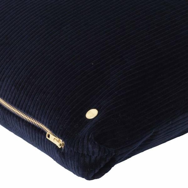 Corduroy Cushion 45x45 - Navy