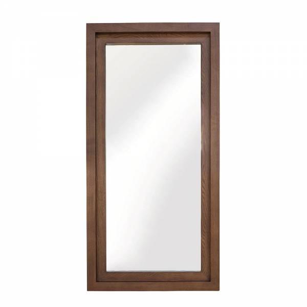 Glam Wall Mirror - Walnut