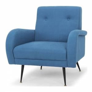 Hugo Armchair - Agean Blue