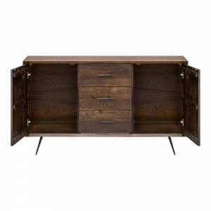 Nexa Sideboard - Seared Oak Two Doors