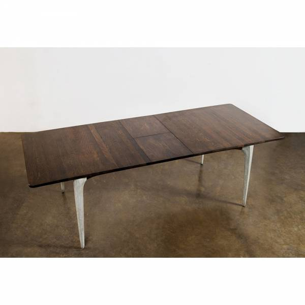 Salk Extendable Dining Table - Seared Wood | Rouse Home