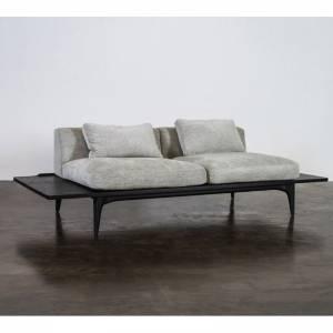 Salk Three Seat Sofa - Graphite