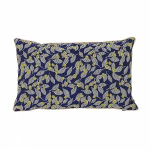 Salon Cushion 40x25 - Flower Blue