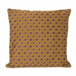 Salon Cushion 40x40 - Mosaic Curry