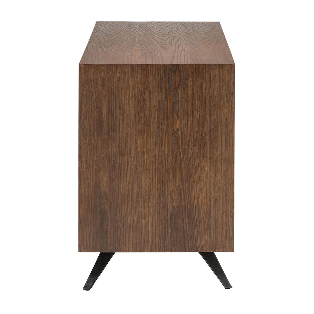 Vega Sideboard Seared Oak Sliding Doors Rouse Home