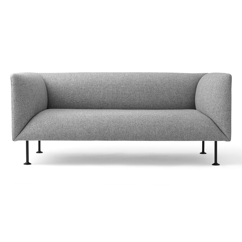Godot 2 Seater Sofa - Light Gray