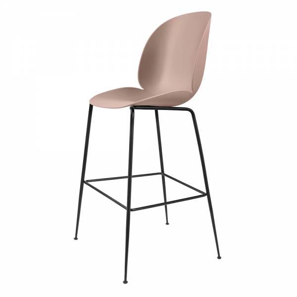 Beetle Bar Chair - Sweet Pink, Black
