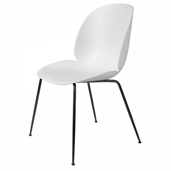 Beetle Dining Chair - White, Black