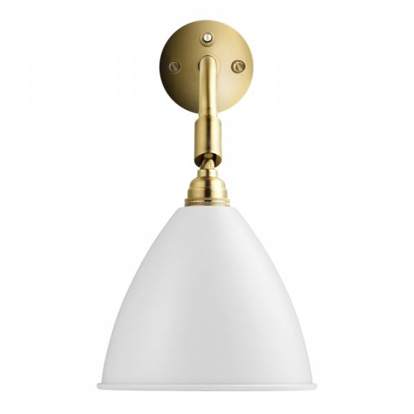 Bestlite BL7 Hardwired Wall Sconce - Brass, Matte White