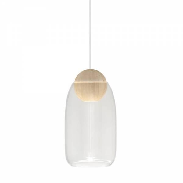 Liuku Ball Pendant - Clear Glass
