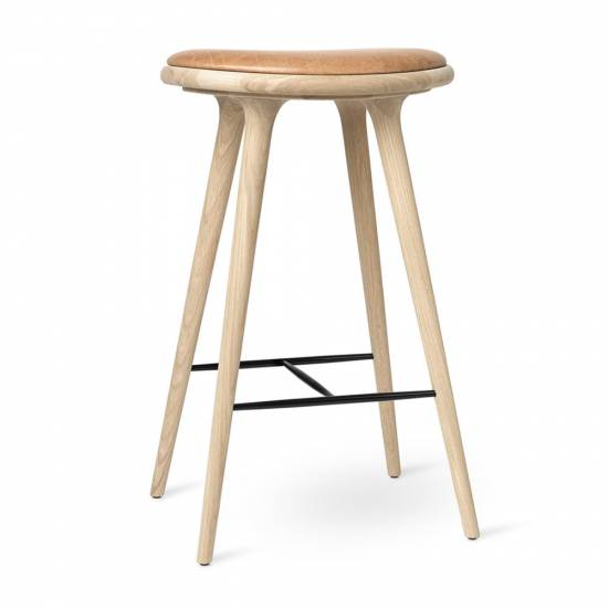 MD Bar Stool - Beige Soap Oak