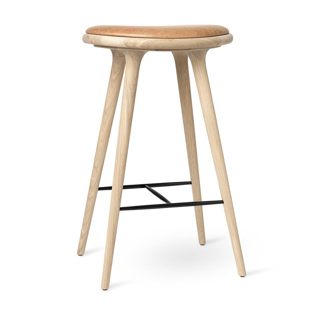 Md Bar Stool Beige Soap Oak Rouse Home