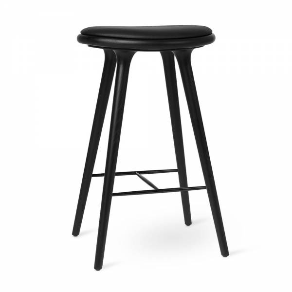 MD Bar Stool - Black Stained Oak