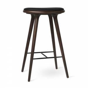 MD Bar Stool - Dark Stained Beech