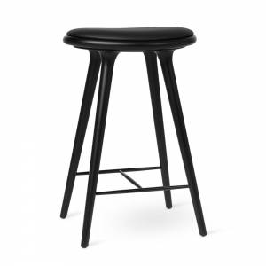 MD Counter Stool - Black Stained Beech