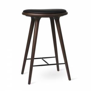 MD Counter Stool - Dark Stained Beech